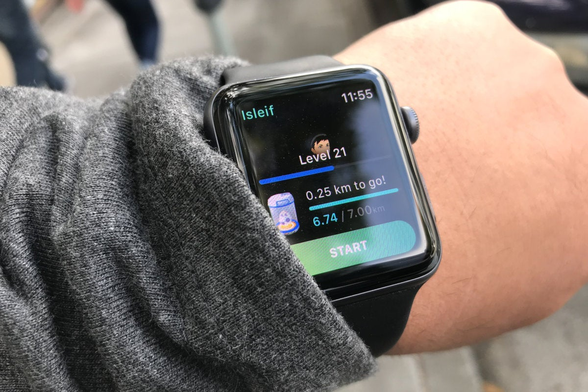 pokemon go on apple watch
