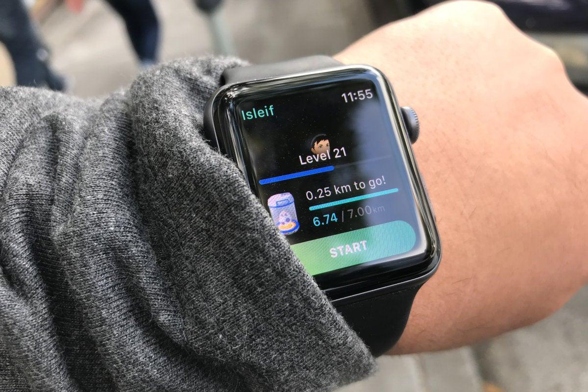 pokemon go on apple watch