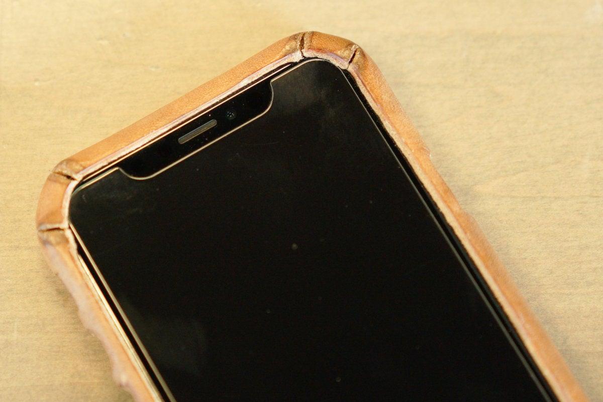saddleback boot leather iphone case corners