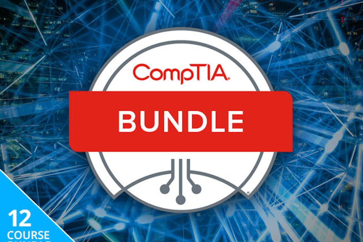 Brush up on your IT skills with this comprehensive CompTIA training bundle