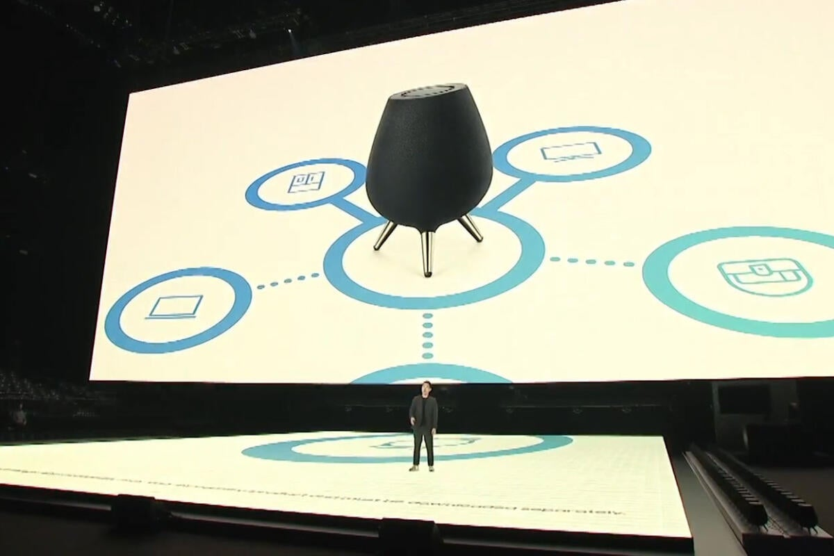 photo image Samsung's Galaxy Home smart speaker will combine Bixby with SmartThings