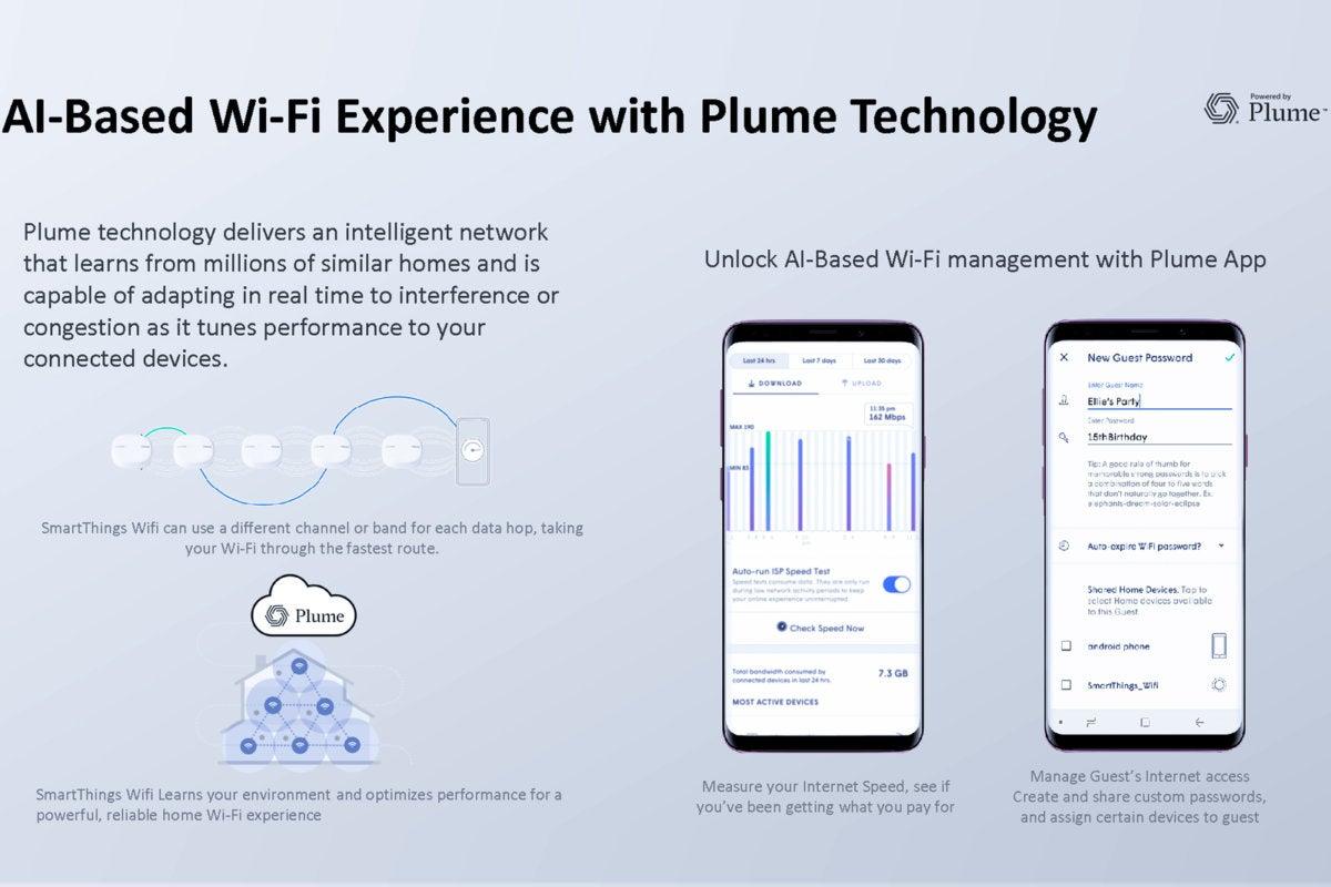 Samsung's SmartThings Wifi mesh router/smart-home hub mashup