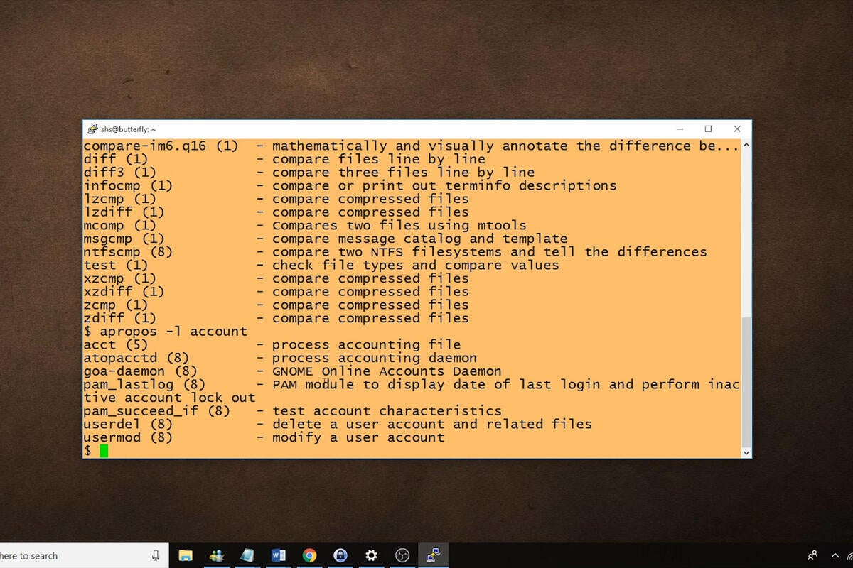 Linux tip: How to use the apropos command