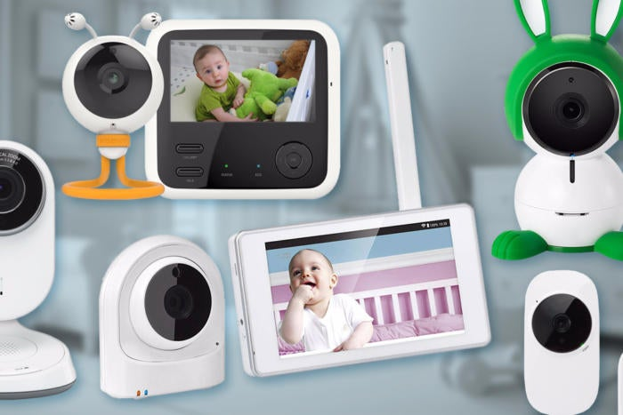 Image result for Baby monitor and camera type: monitor your baby from a distance