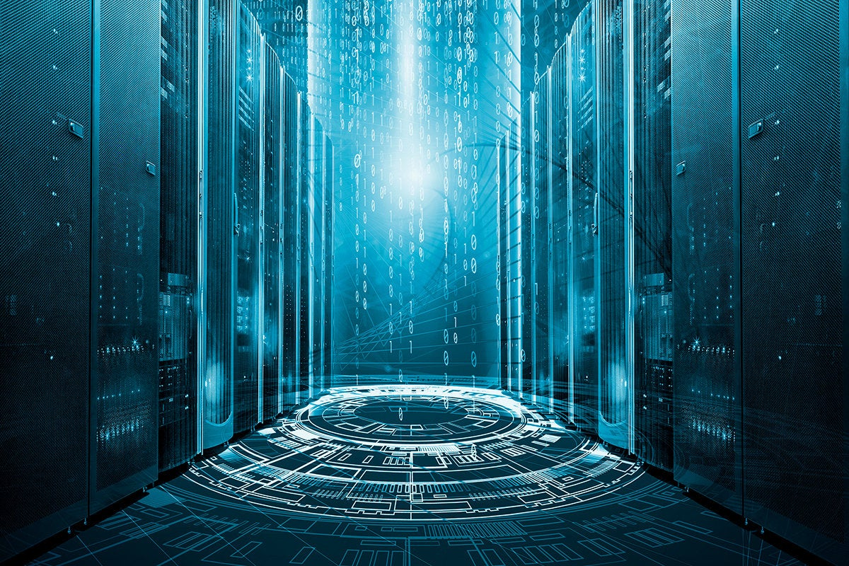 virtual data center servers