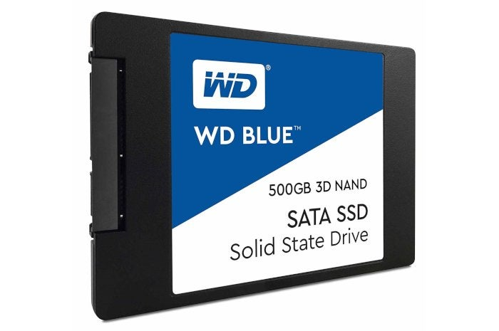 The 500GB WD Blue SSD, one of our favorite SSDs, is on sale