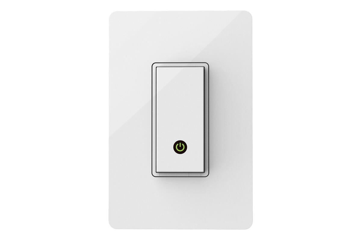 photo image The Wemo smart light switch is $15 off today