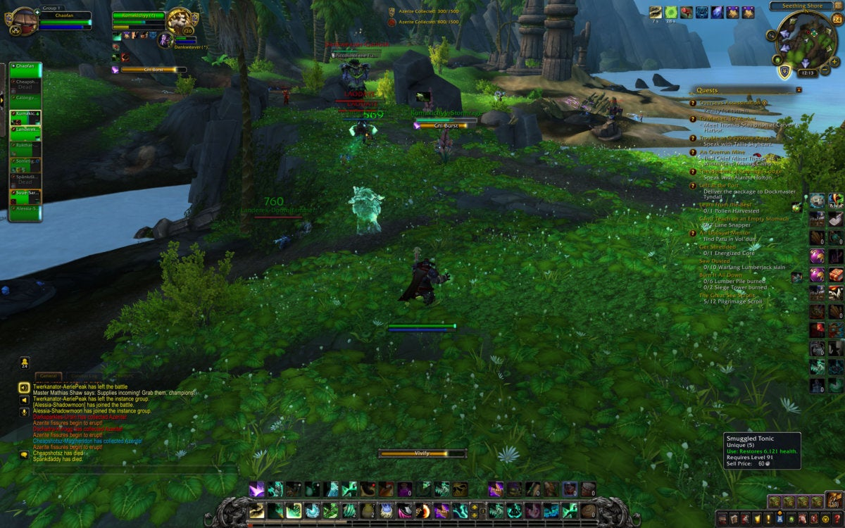 World of Warcraft: Battle for Azeroth review: The world is