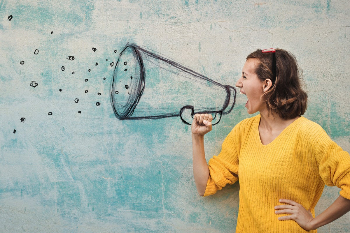 11 everyone has a voice point of view speaking communication megaphone