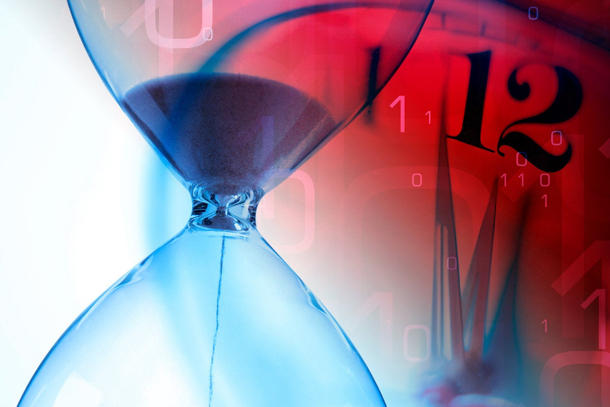 4 response time to breach hour glass time clock deadline midnight