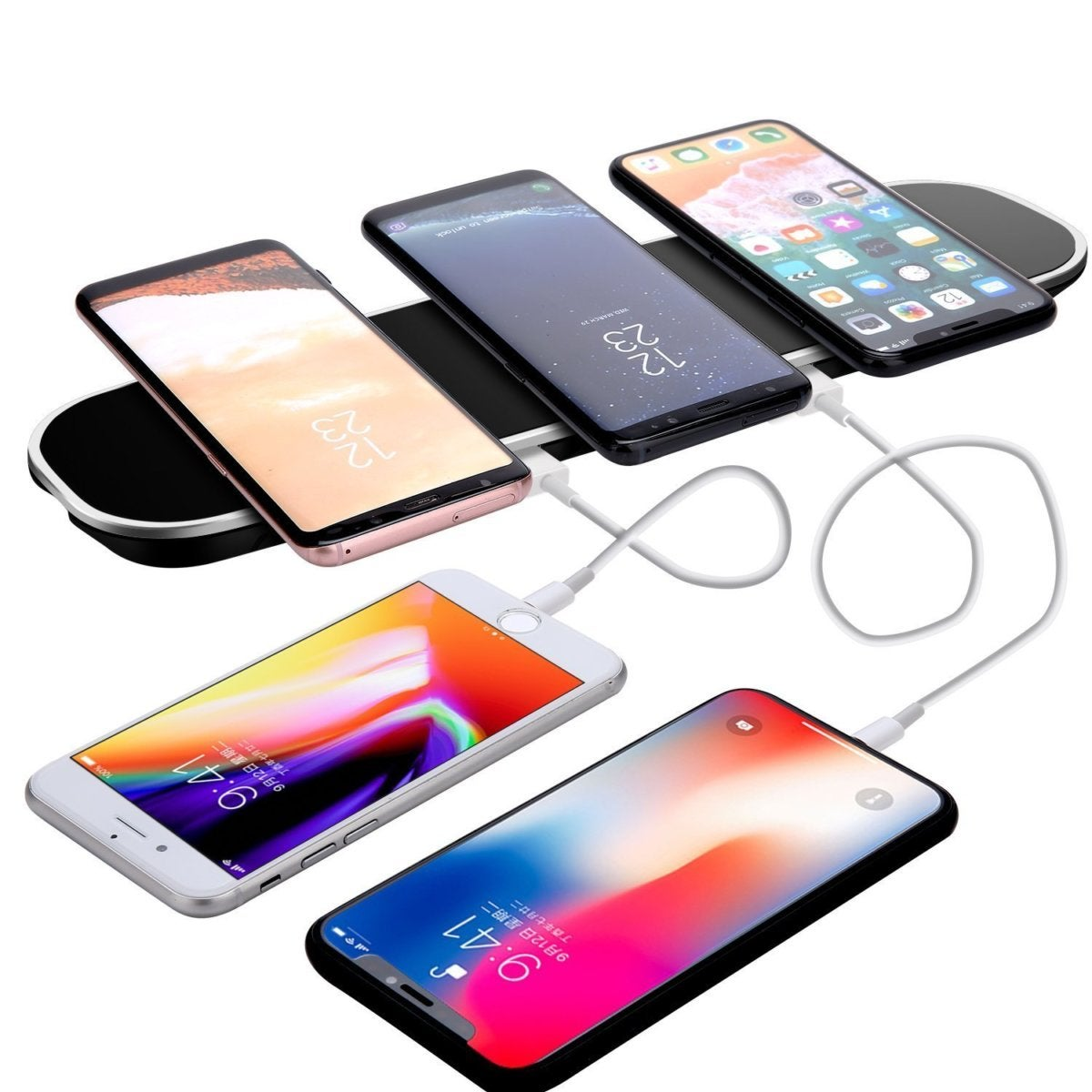 Lina Tech triple wireless charging pad