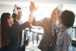 8 praise congratulate recognize acknowledge high five