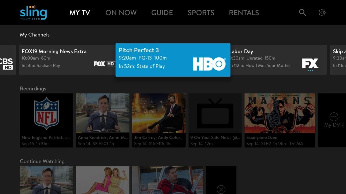 AirTV DVR doesn't quite pick up Sling TV's slack | TechHive