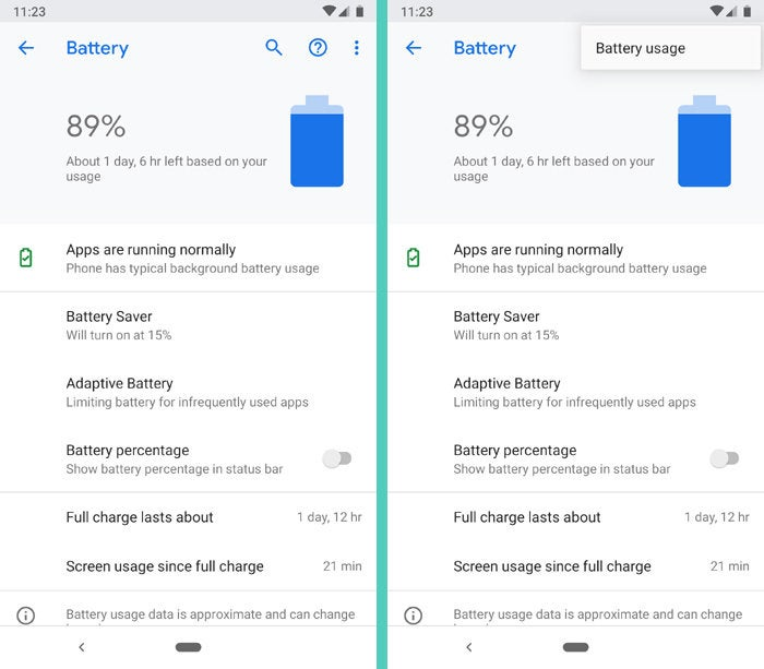 What happened to battery stats in Android Pie? | Computerworld