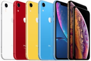 apple iphone xs xr lineup