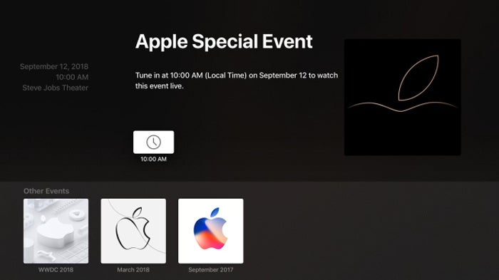 apple tv sep12 event