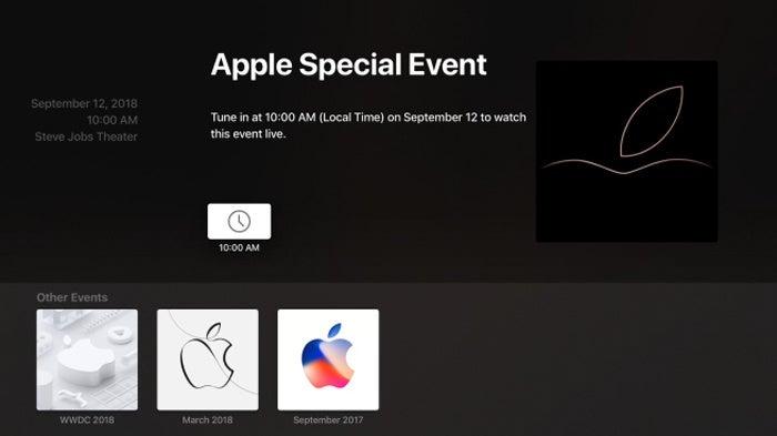 apple tv sep12 event