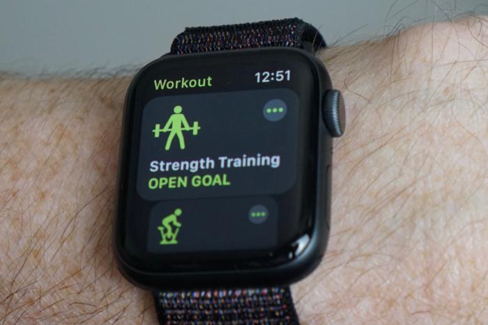 apple watch s4 activity
