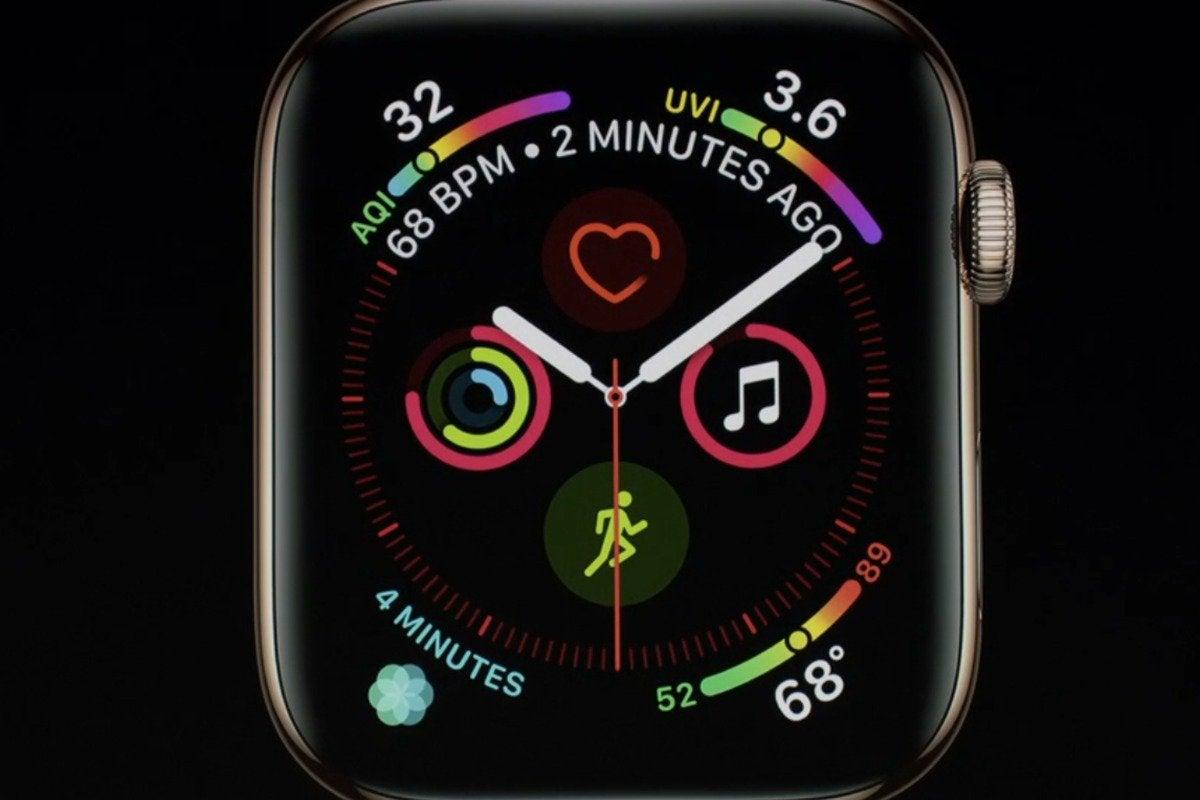 apple watch series 4 face