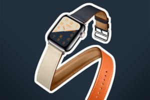 Apple Watch - Series 4 > Hermès Double Tour strap
