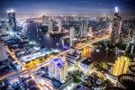 Bangkok, Thailand  > city at night