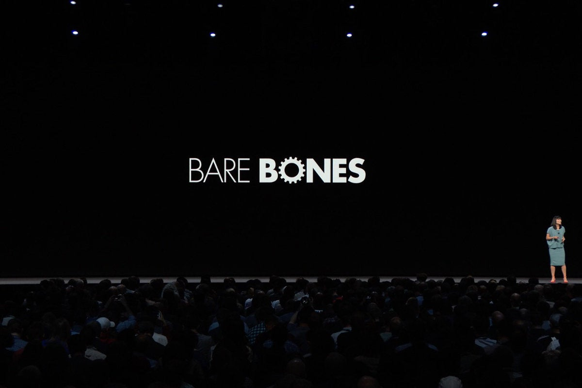 bare bones wwdc 2018