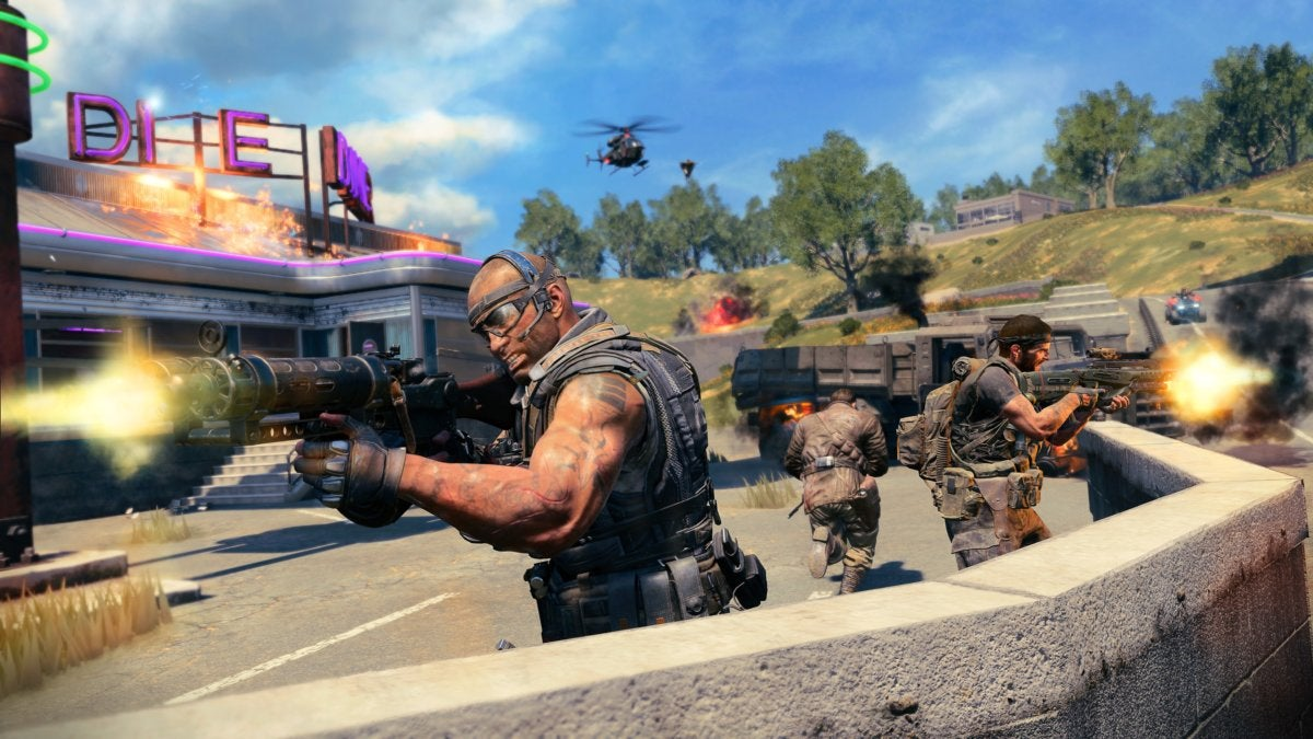 Call of Duty: Black Ops 4's Blackout mode is like PUBG