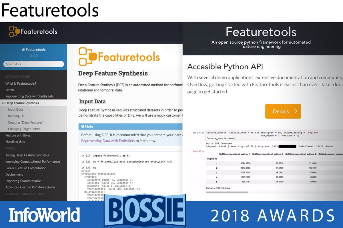 bos 2018 featuretools