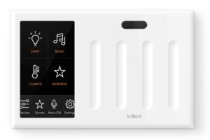 brilliant 4 light switch