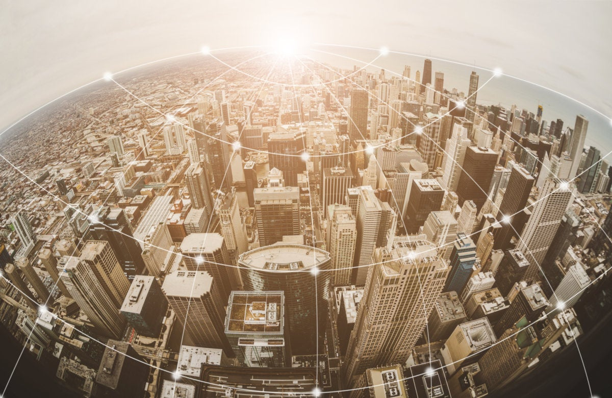city network monitoring cityscape