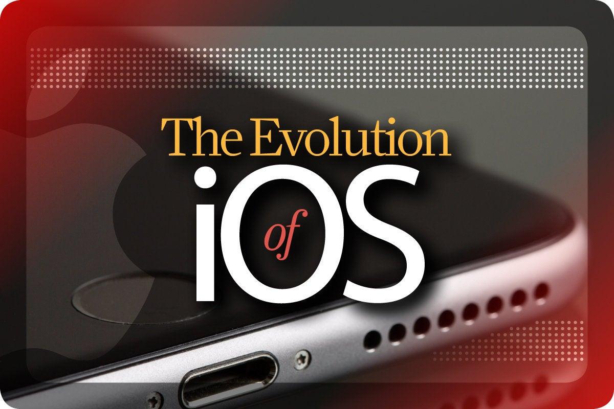 Computerworld > The Evolution of iOS [cover]