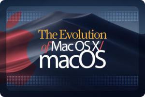 Computerworld > The Evolution of Mac OS X / macOS [cover]