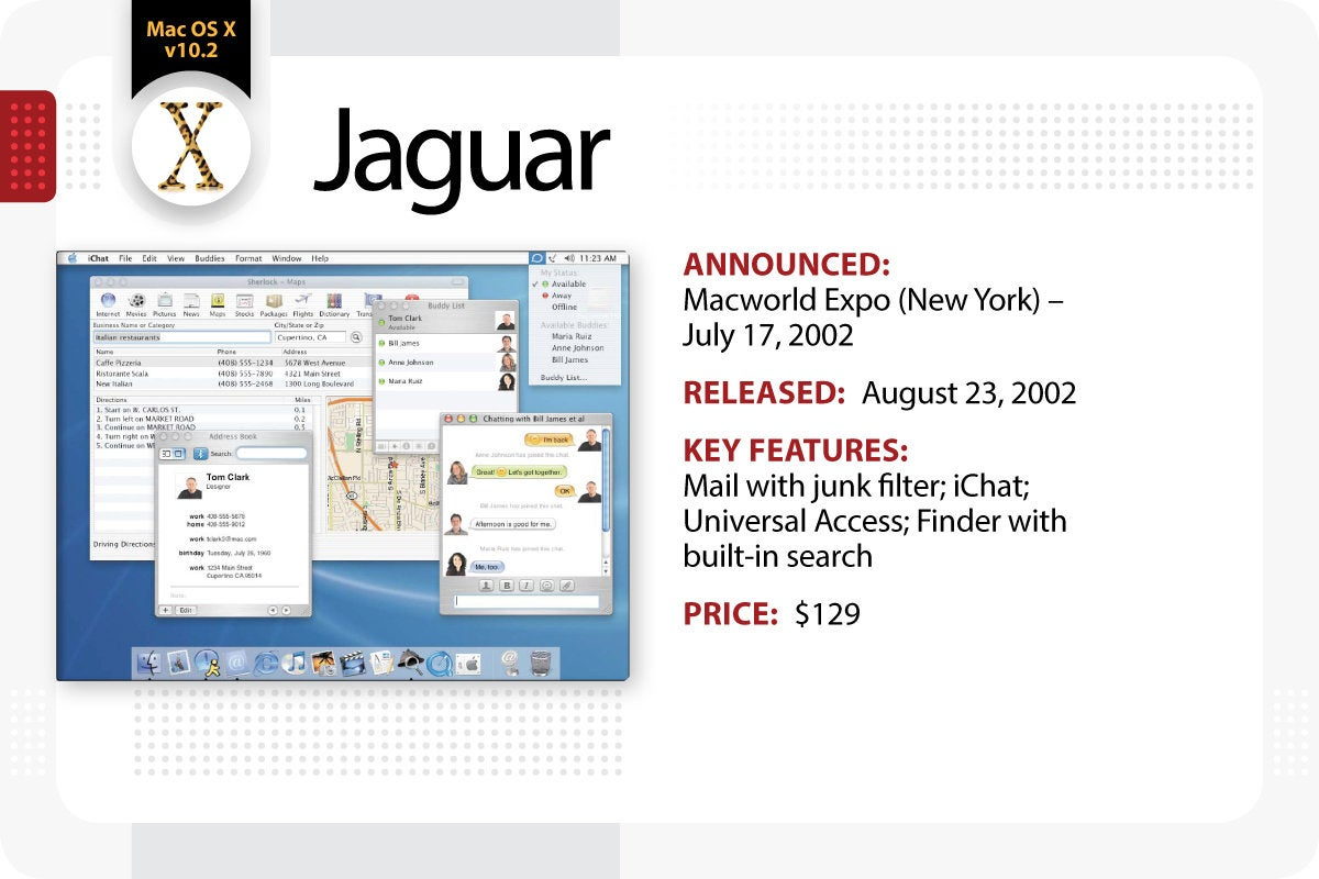 Computerworld > The Evolution of Mac OS X / macOS > Jaguar