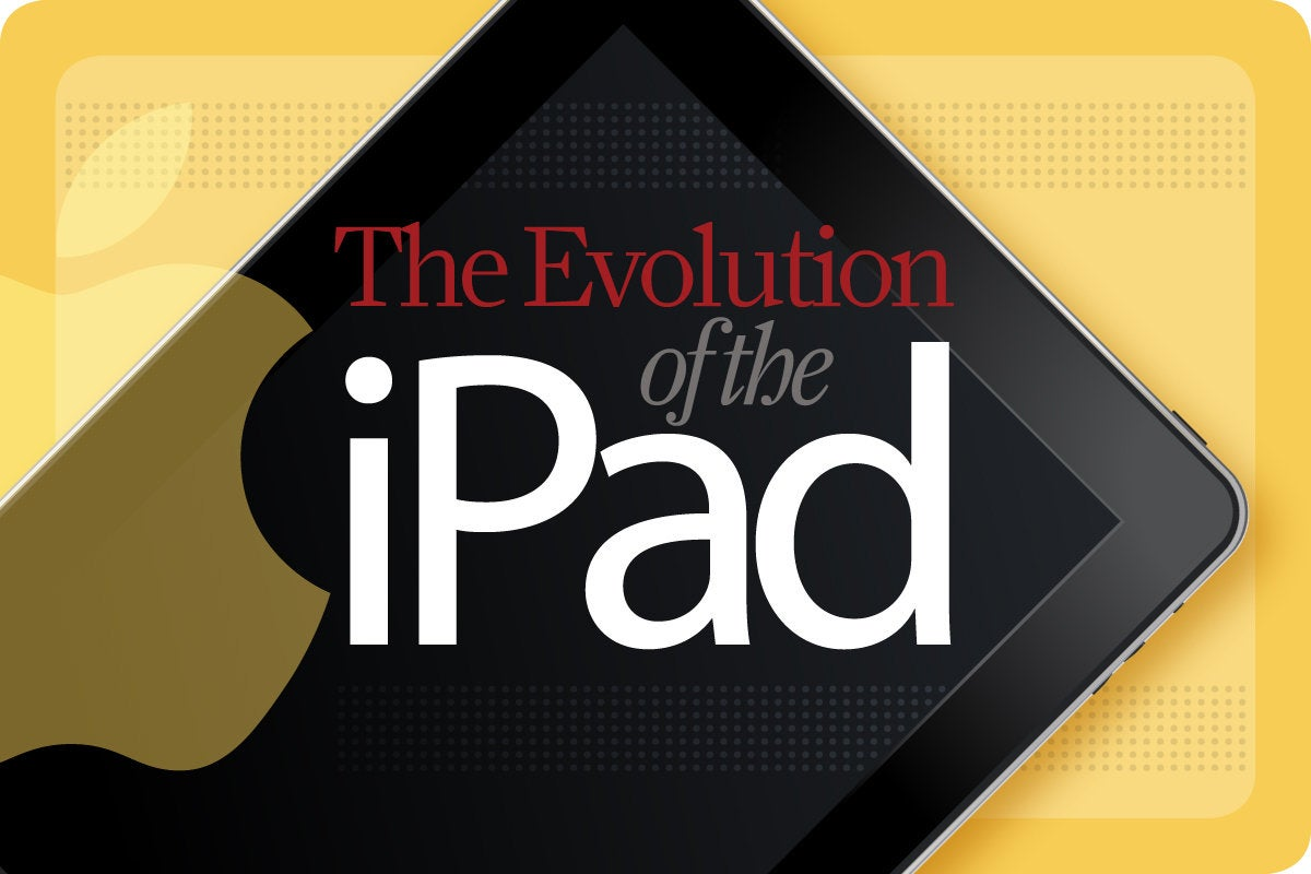 Computerworld > The Evolution of the iPad [cover]