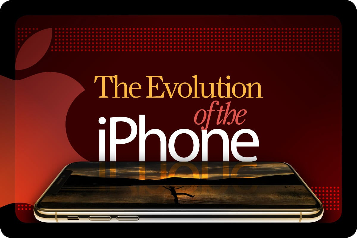 Computerworld > The Evolution of the iPhone [cover]