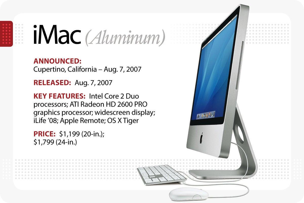 Computerworld > The Evolution of the Macintosh > iMac (Aluminum)