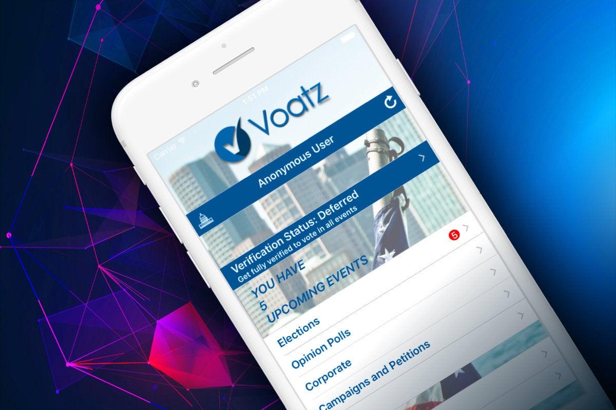 Computerworld </a>> Mobile voting via Voatz phone app