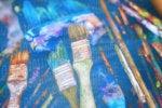 data artist visualization explainer paint brush  paint colorful diverse