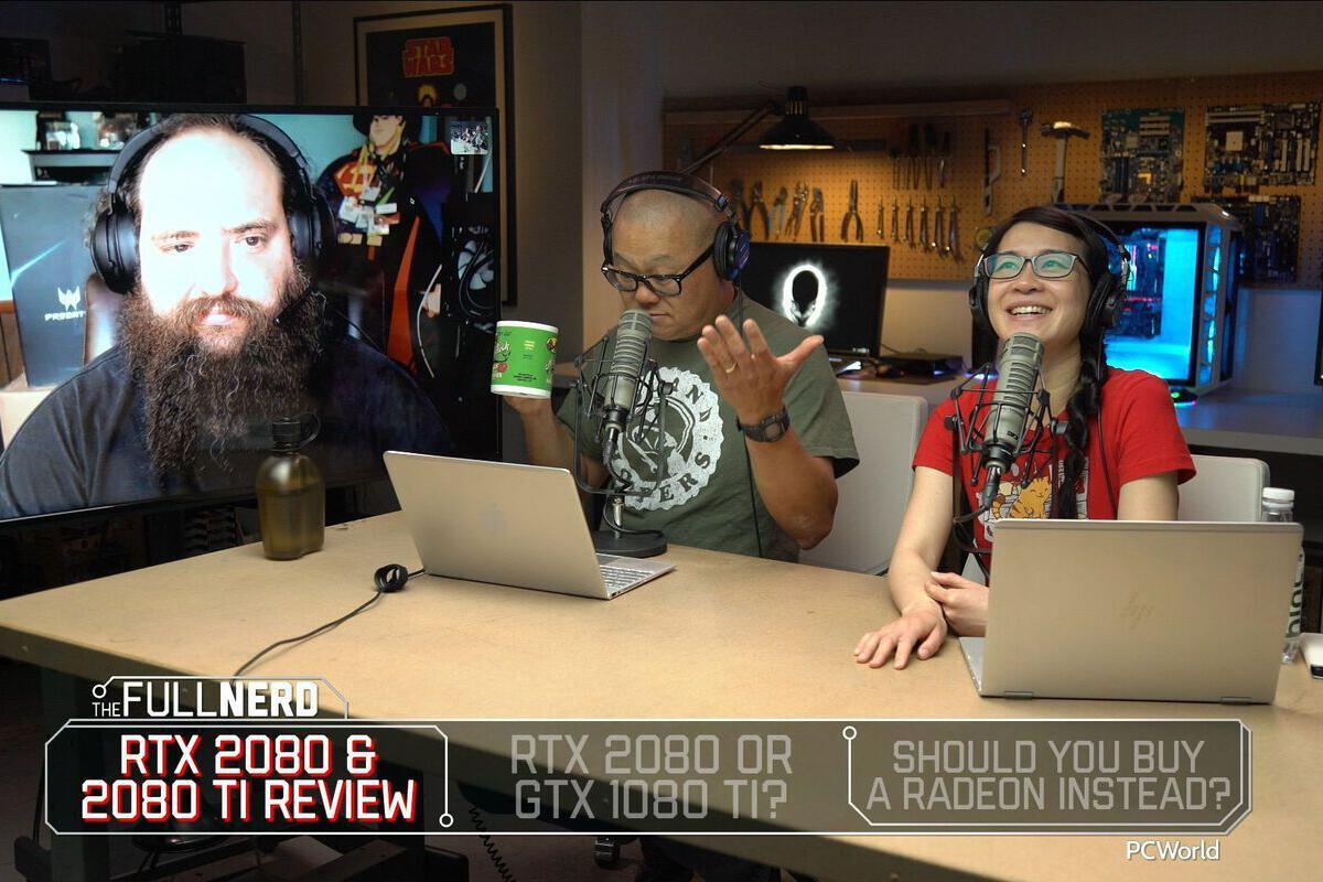 The Full Nerd ep  68: GeForce RTX review, RTX 2080 vs  GTX