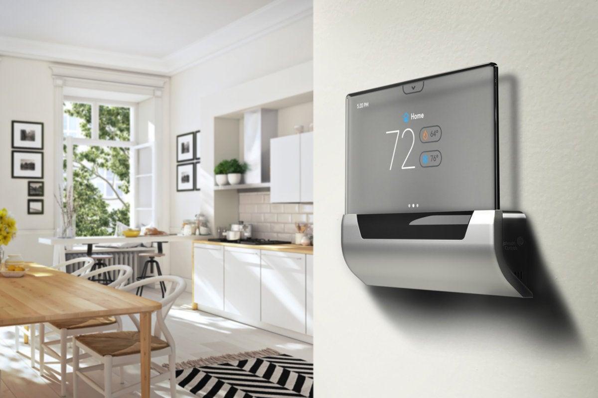 Johnson Controls Glas Smart Thermostat Review Hey Cortana