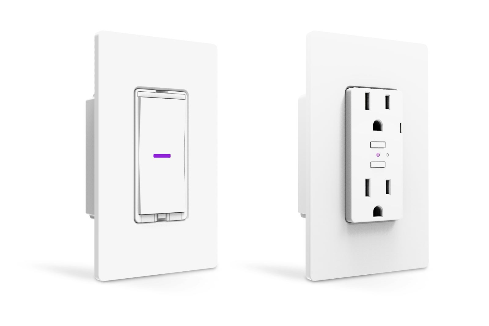 Idevices Dimmer Switch And Wall Outlet Review Smart Home Controlno Used To Operate Two Lights With The Power Feed Via Hub Required Techhive
