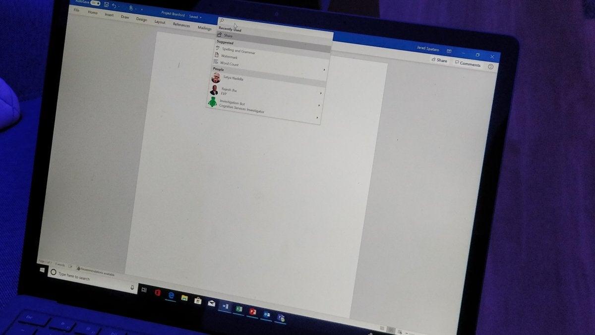 Microsoft Office Microsoft Word Microsoft Search