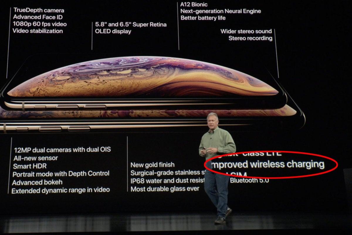 improved charging apple event