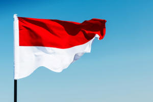 Flag  >  Indonesia