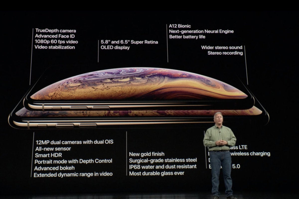 iphone event iphone xs summary