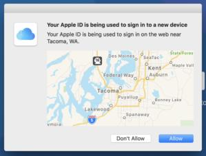mac911 2fa trusted login map