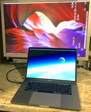 mac911 macbook with monitor