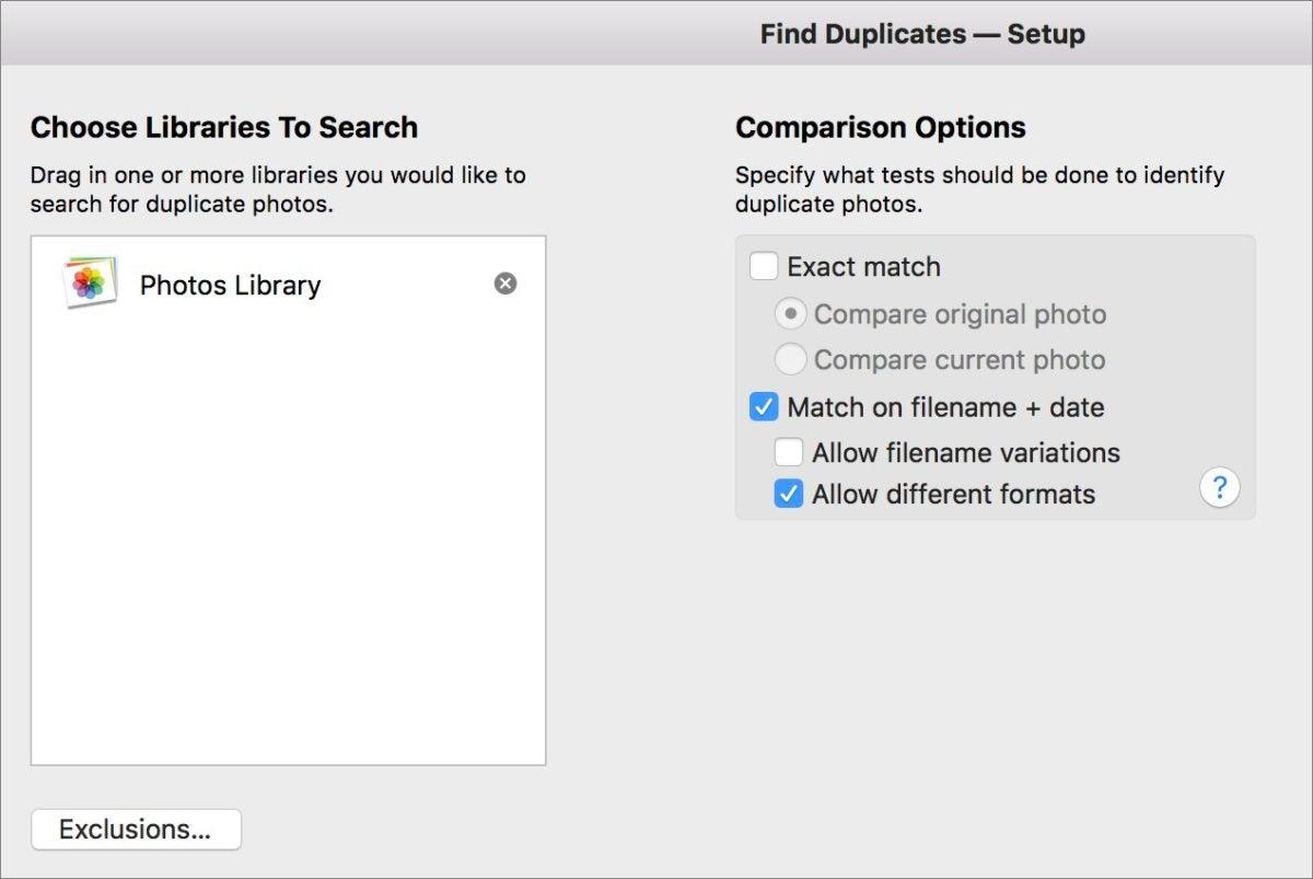 mac911 powerphotos find dupes dialog