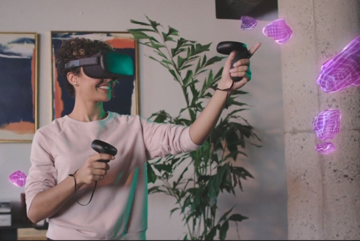 oculus quest action
