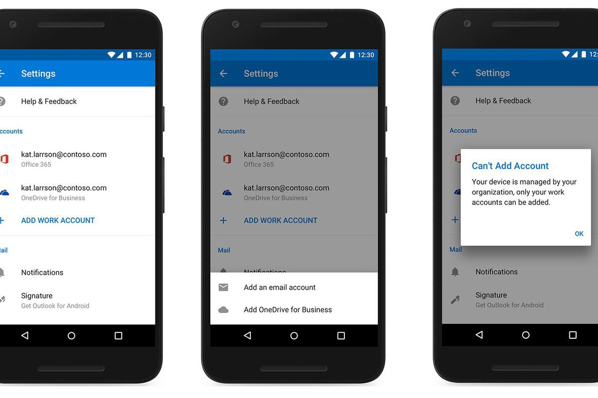 Microsoft upgrades Outlook Mobile, but restricting personal